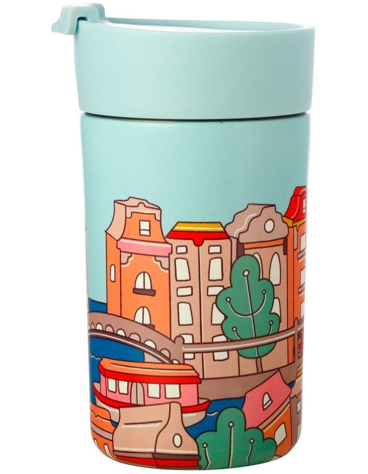 Megan McKean Cities Double Wall Insulated Cup 350ML Amsterdam image 1
