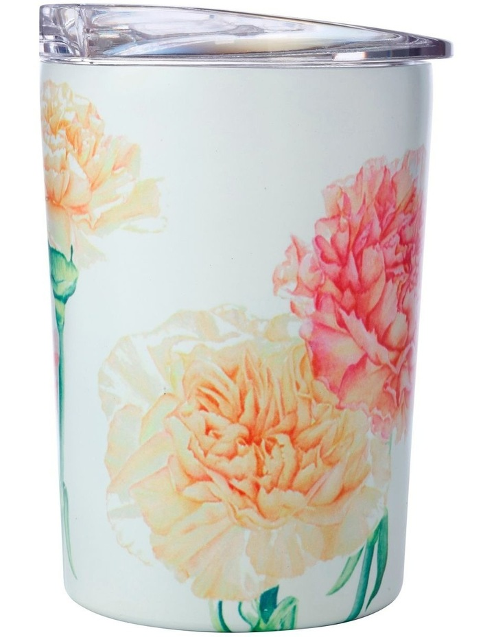 Katherine Castle Floriade Double Wall Insulated Cup 360ML Carnations image 1