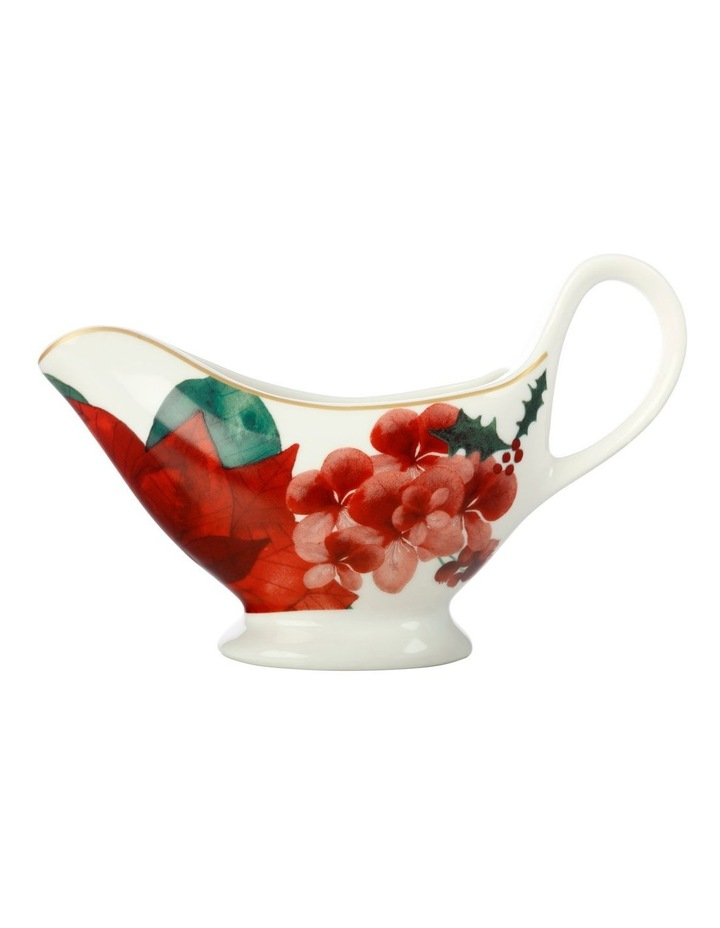 Poinsettia Gravy Boat 400ML Gift Boxed image 1