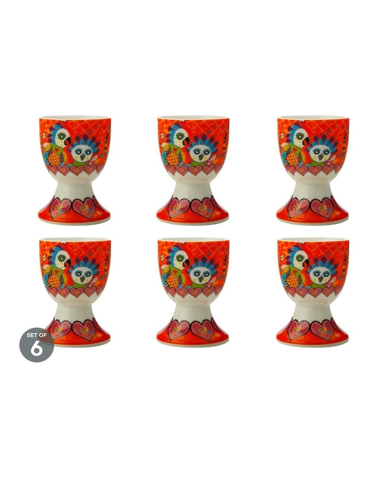 Love Hearts Egg Cup Fan Club Set of 6 image 1