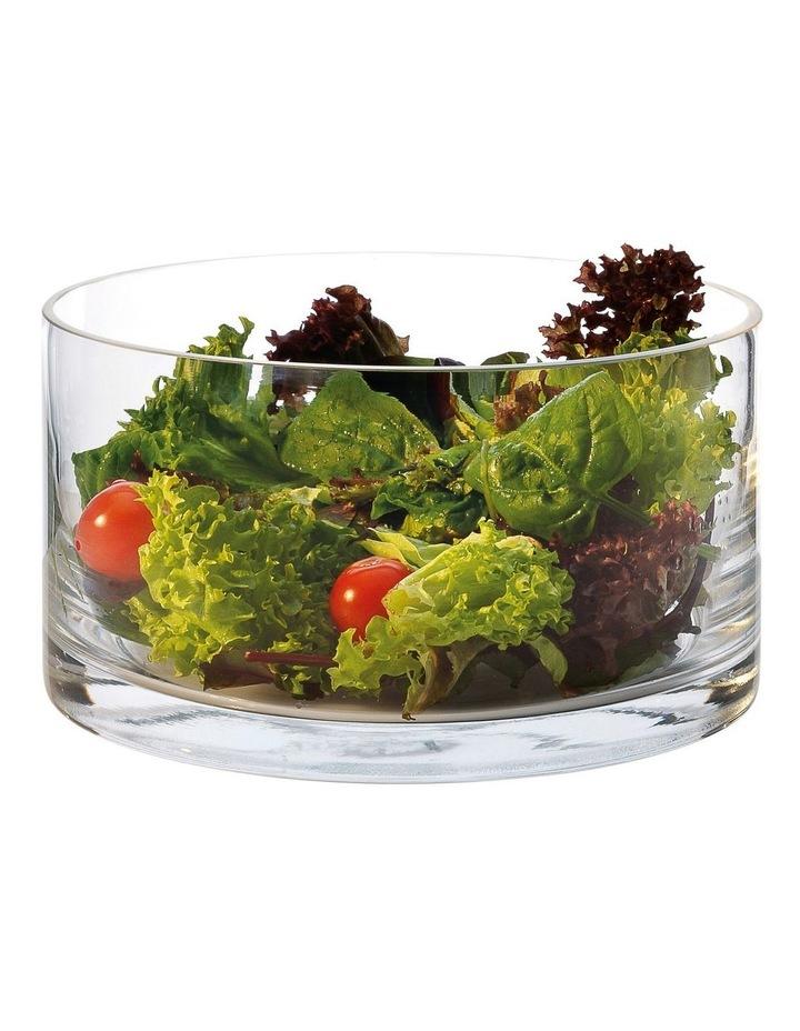 Diamante Cylindrical Salad Bowl 22cm Gift Boxed image 1