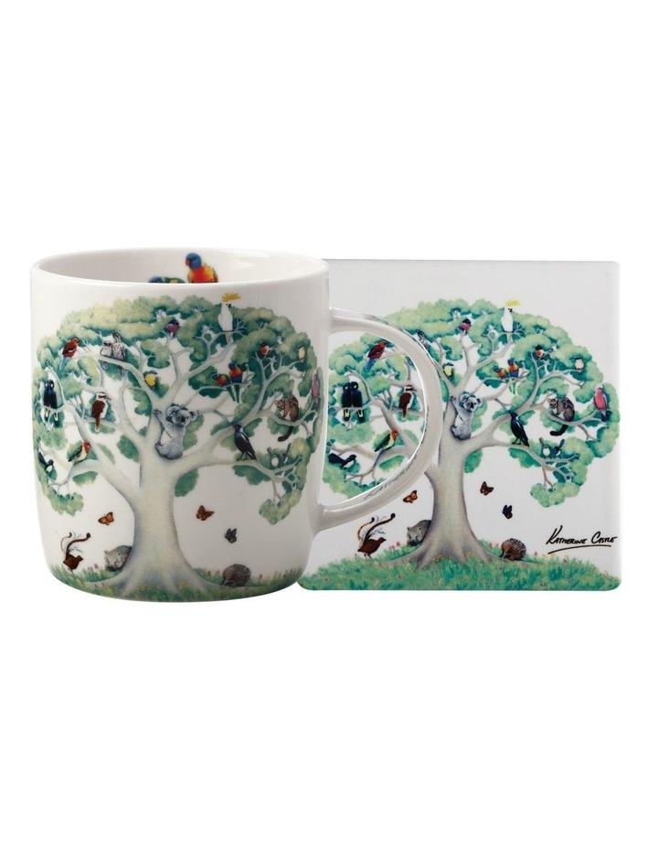 Royal Children's Hospital Uoo Uoo Mug 370ML & Coaster Katherine Castle Set Gift Boxed image 1