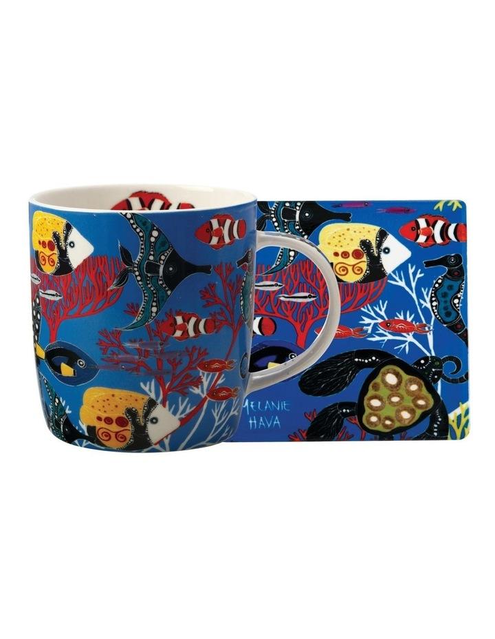 Royal Children's Hospital Uoo Uoo Mug 370ML & Coaster Melanie Hava Set Gift Boxed image 1
