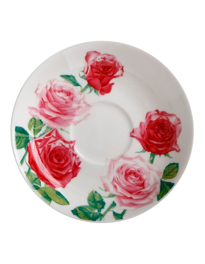 Katherine Castle Floriade Breakfast Cup & Saucer 480ML Rose Gift Boxed image 2