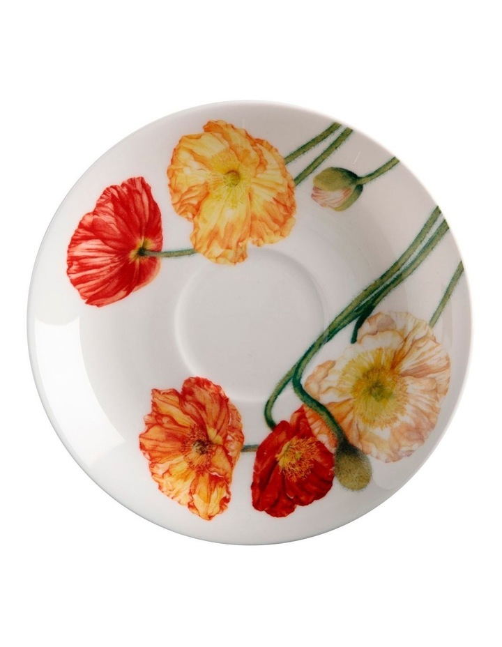 Katherine Castle Floriade Breakfast Cup & Saucer 480ML Poppy Gift Boxed image 2