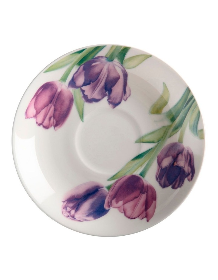 Katherine Castle Floriade Breakfast Cup & Saucer 480ML Tulip Gift Boxed image 2