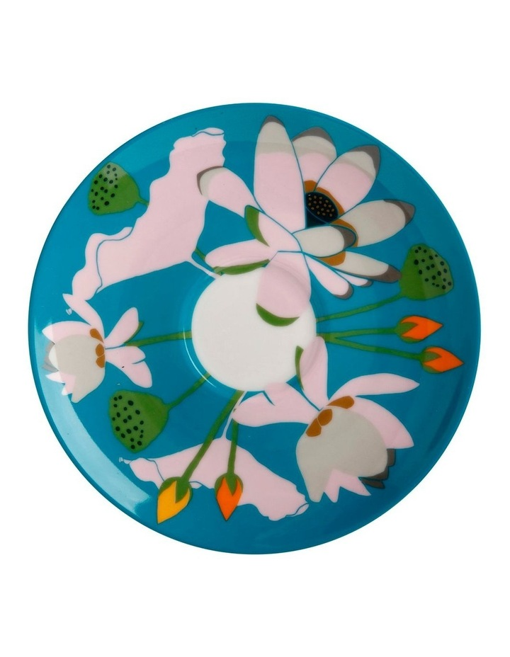 Royal Botanic Gardens Lotus Cup & Saucer 240ML Aqua Gift Boxed image 3