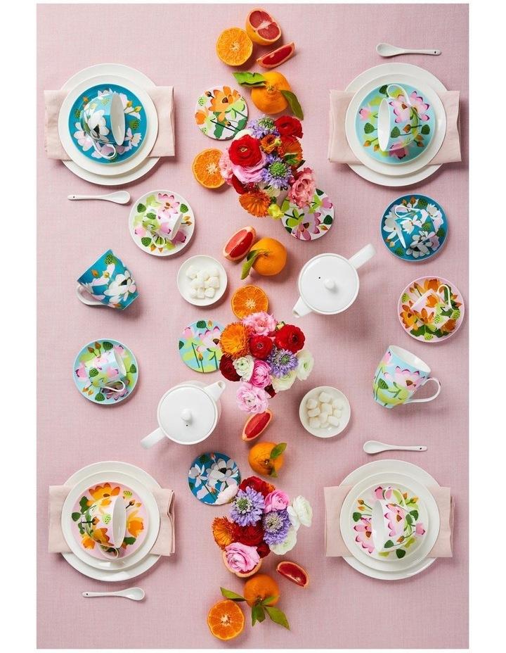 Royal Botanic Gardens Lotus Demi Cup & Saucer 100ML White Gift Boxed image 4