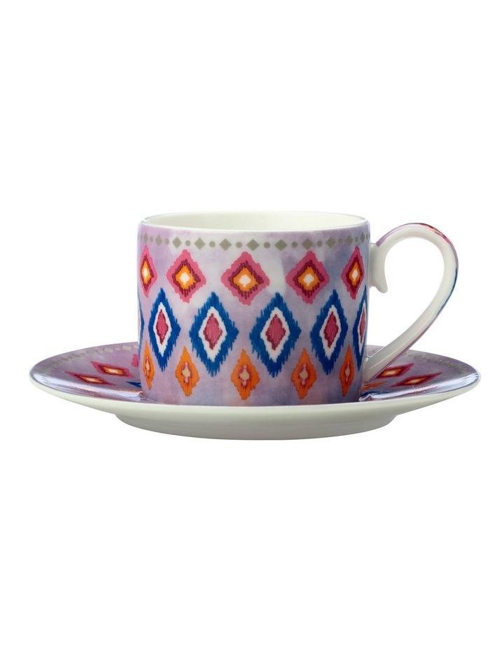 Teas & C's Zanzibar Demi Cup & Saucer 100ML Set Of 2 Gift Boxed image 1
