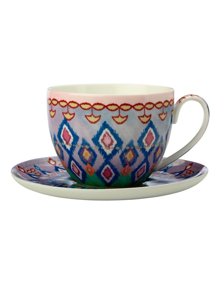Teas & C's Zanzibar Breakfast Cup & Saucer 480ML Gift Boxed image 1