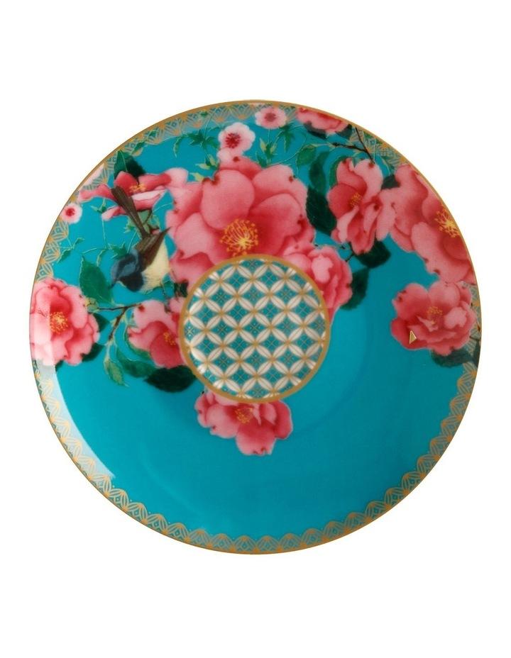Teas & C's Silk Road Demi Cup & Saucer 85ML Set of 2 Aqua Gift Boxed image 2