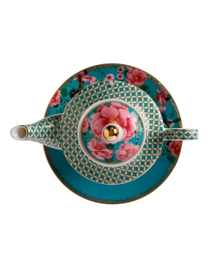 Teas & C's Silk Road Tea for One with Infuser 380ML Aqua Gift Boxed image 3