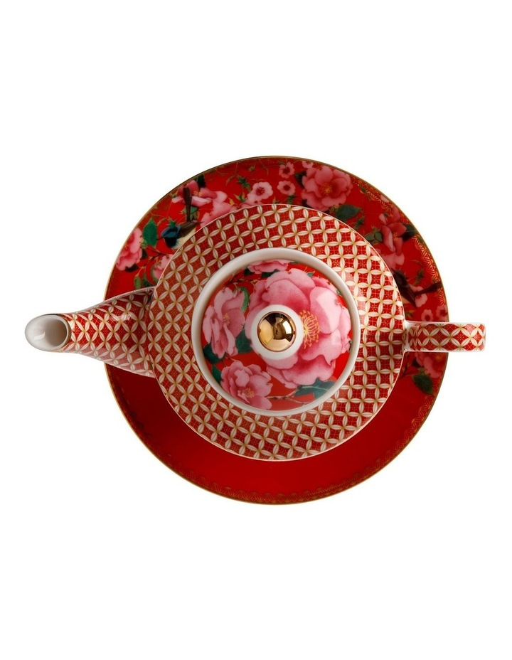 Teas & C's Silk Road Tea for One with Infuser 380ML Cherry Red Gift Boxed image 3
