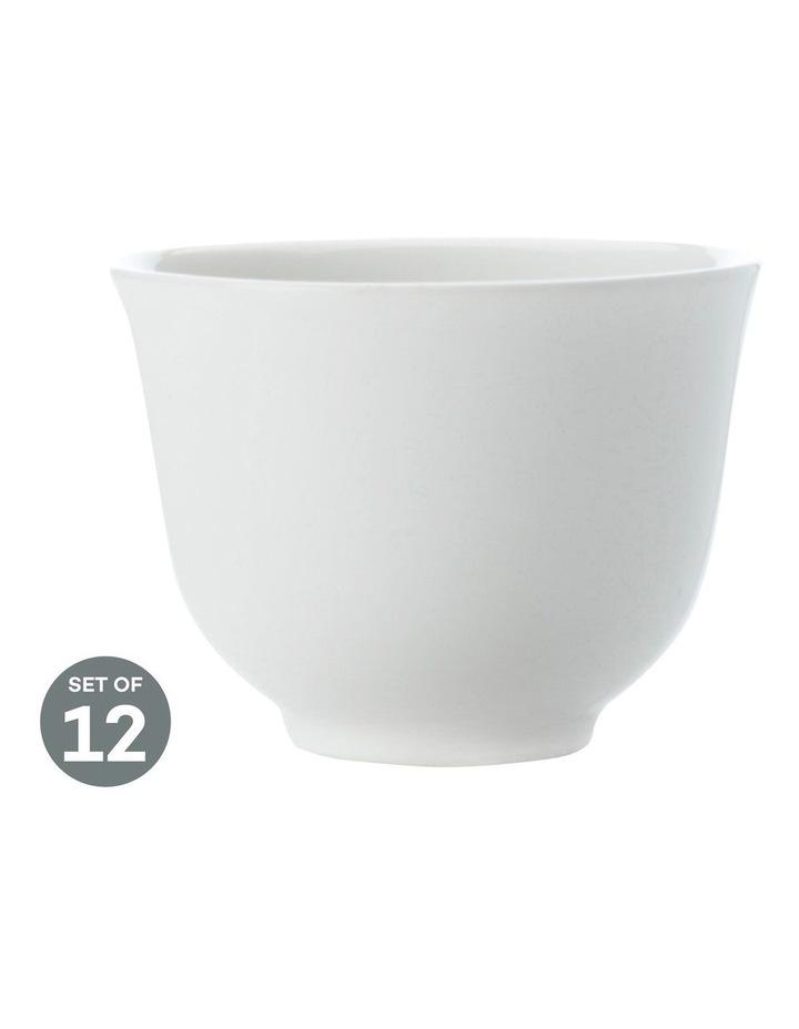 White Basics Chinese Tea 100ML Set of 12 image 1