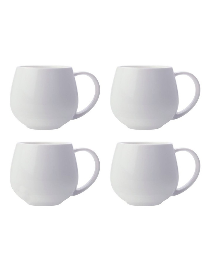 White Basics Snug Mug 450ML White Set of 4 image 1