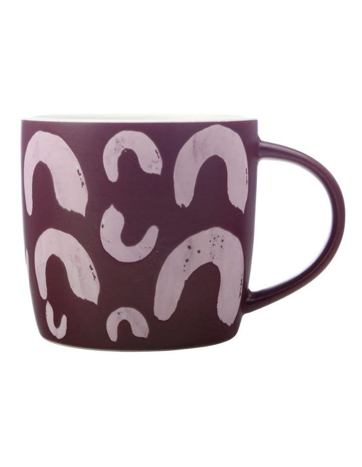 Macaroni Mug 440ML Purple image 1