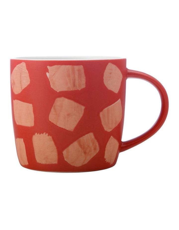 Macaroni Mug 440ML Terracotta image 1