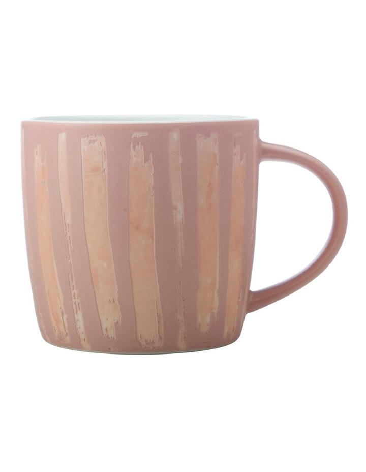 Macaroni Mug 440ML Raspberry image 1