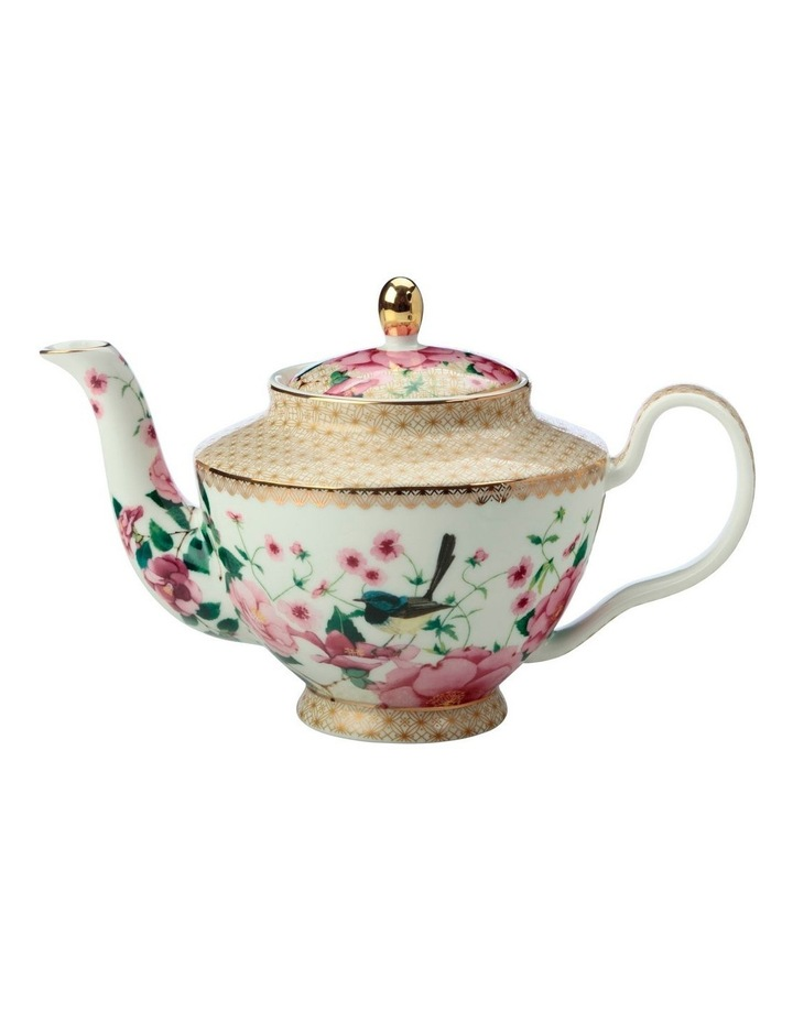 Teas & C's Silk Road Teapot With Infuser 500ML White Gift Boxed image 1