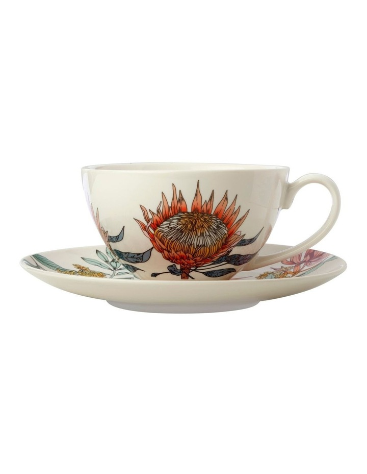 Waratah Coupe Breakfast Cup & Saucer 400ML image 1
