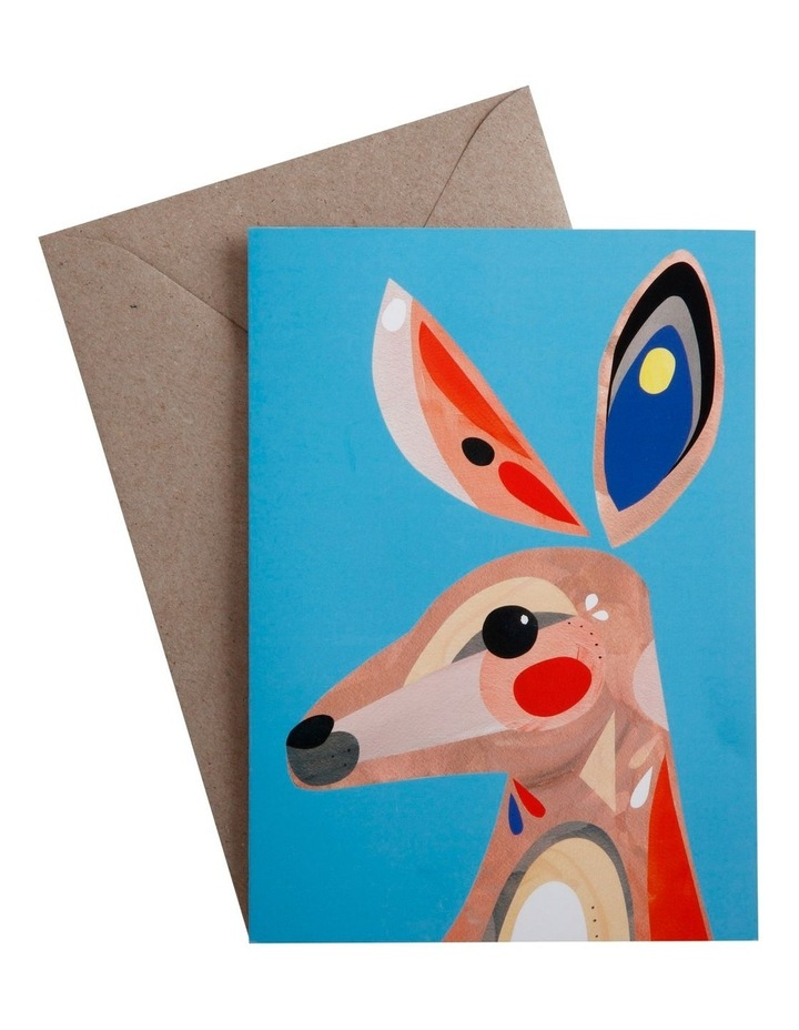 Pete Cromer Greeting Card Kangaroo image 1