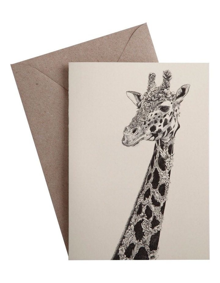 Marini Ferlazzo Greeting Card African Giraffe image 1