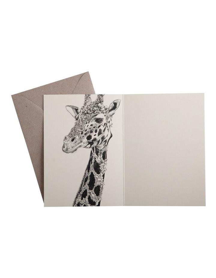 Marini Ferlazzo Greeting Card African Giraffe image 2