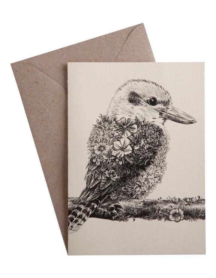 Marini Ferlazzo Greeting Card Kookaburra image 1
