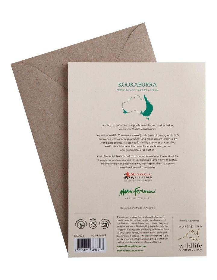 Marini Ferlazzo Greeting Card Kookaburra image 3