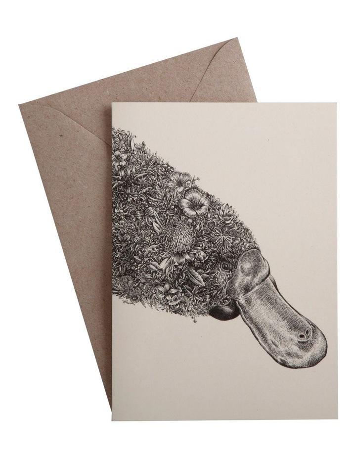 Marini Ferlazzo Greeting Card Platypus image 1