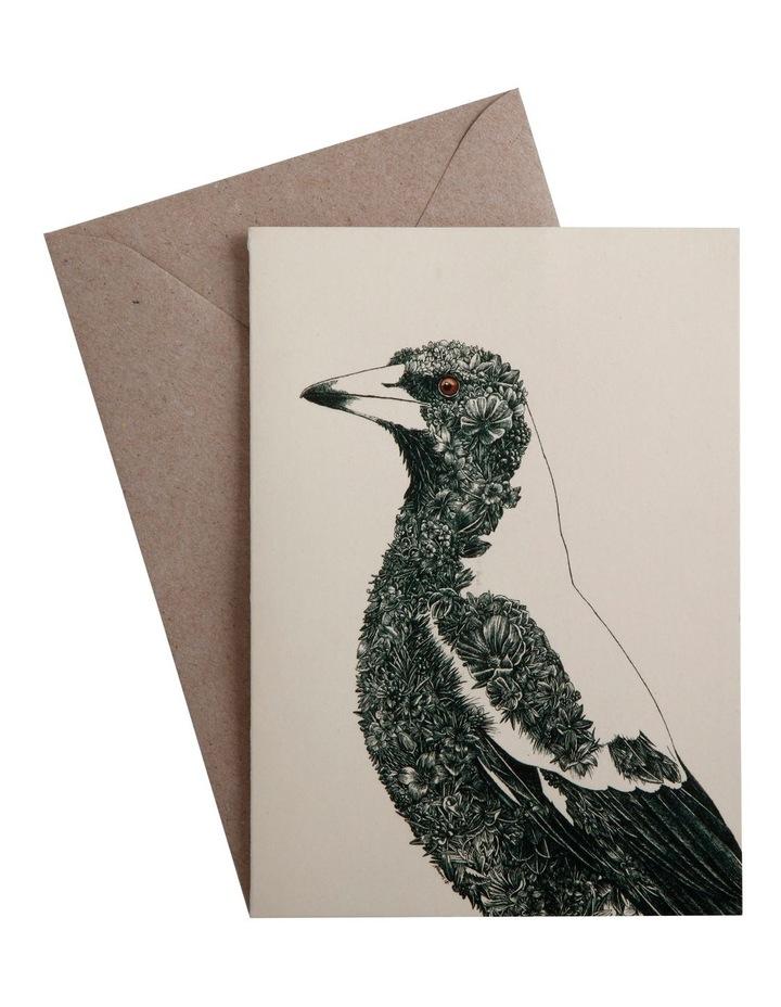 Marini Ferlazzo Birds Greeting Card Magpie image 1