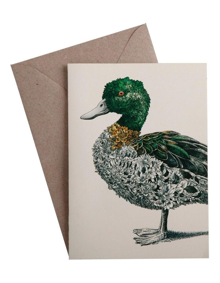 Marini Ferlazzo Birds Greeting Card Duck image 1