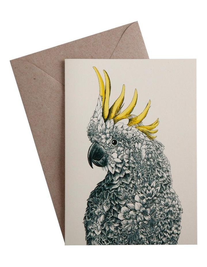 Marini Ferlazzo Birds Greeting Card Cockatoo image 1