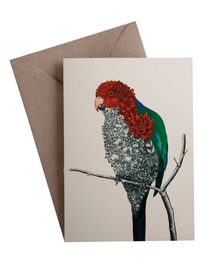 Marini Ferlazzo Birds Greeting Card Parrot image 1