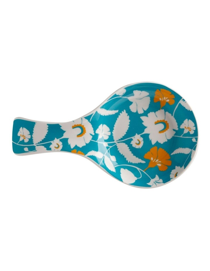 Rhapsody Spoon Rest Teal image 1