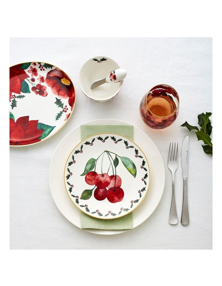 Poinsettia Oval Platter 25x19cm Gift Boxed image 2