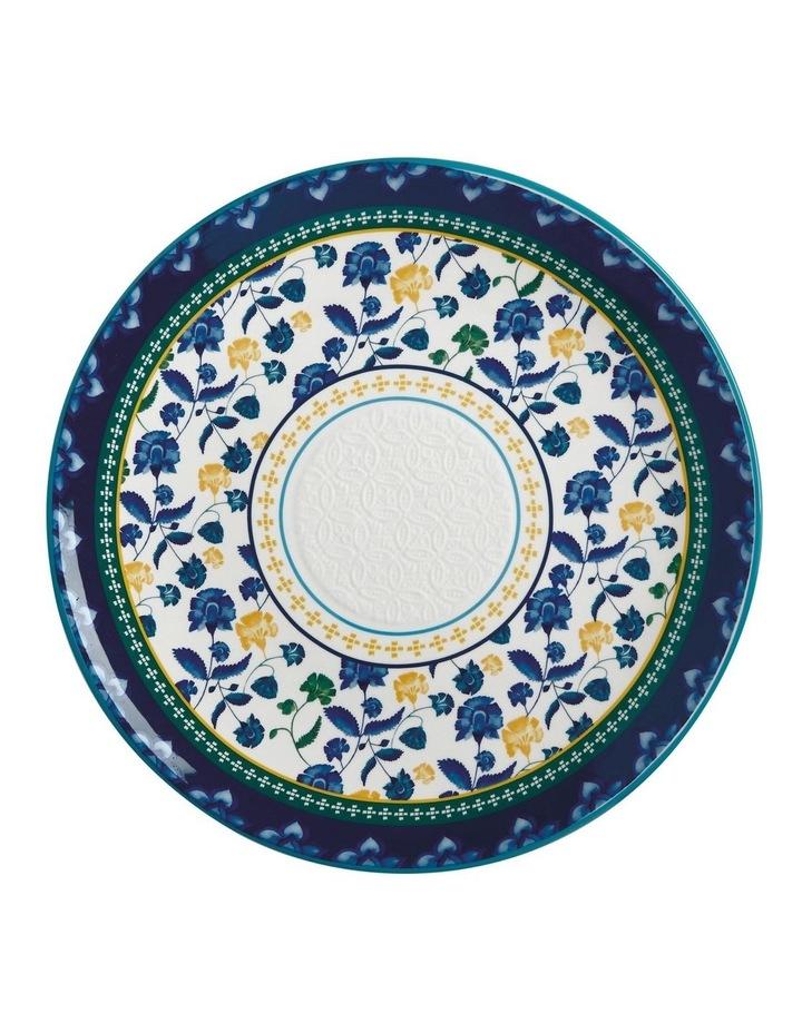 Rhapsody Round Platter 36.5cm Blue Gift Boxed image 1