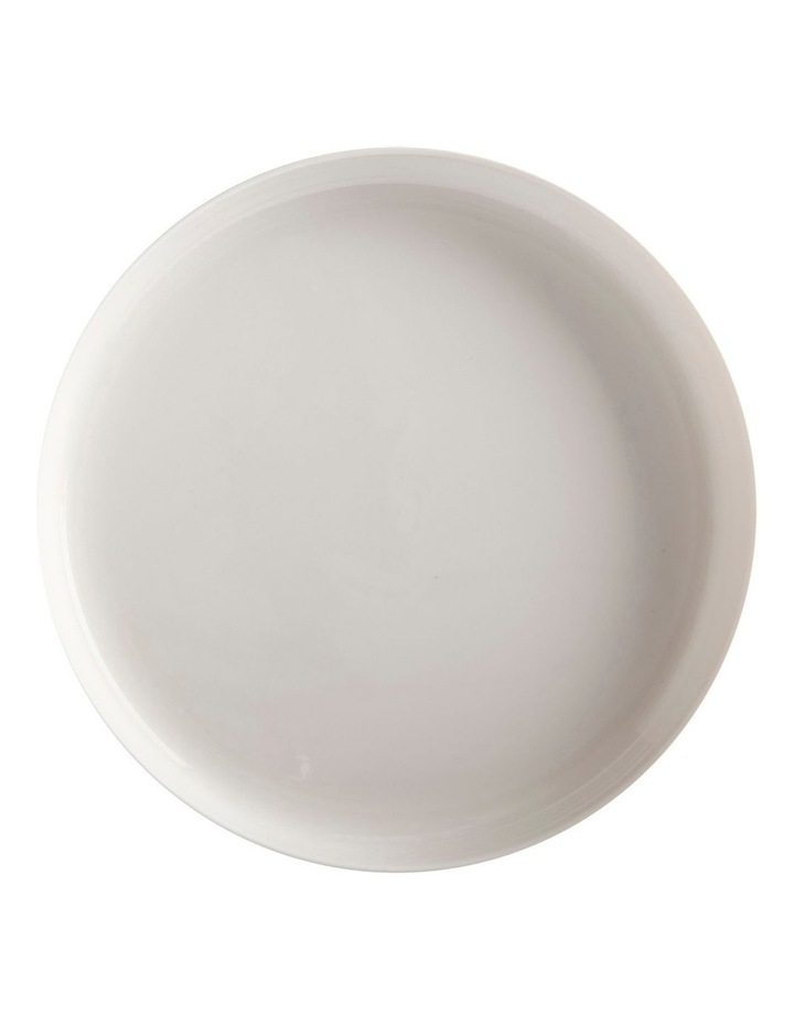 White Basics High Rim Platter 28cm image 1