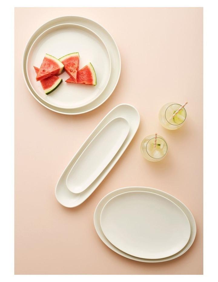 White Basics High Rim Platter 28cm image 2