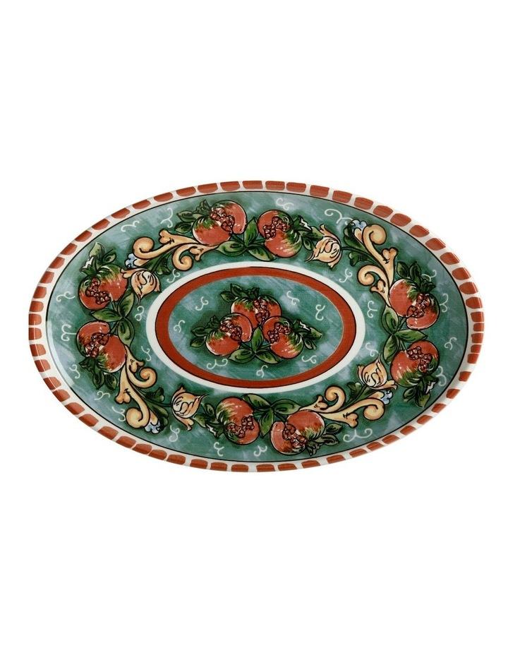 Ceramica Salerno Pomegranates 40x26cm Oval Platter image 1