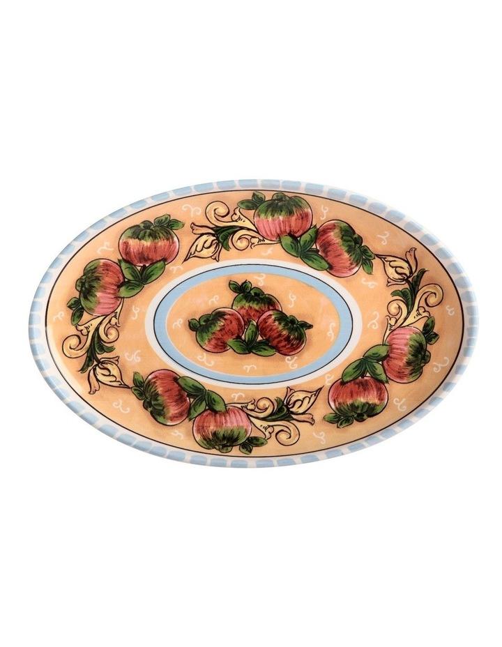 Ceramica Salerno Apples 40x26cm Oval Platter image 1
