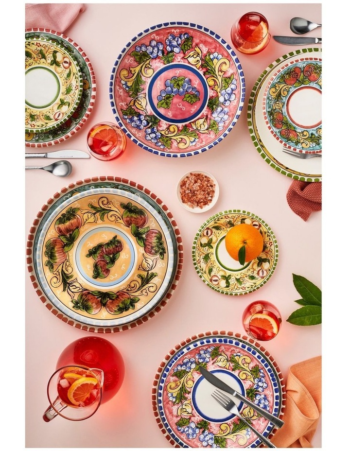 Ceramica Salerno Apples 40x26cm Oval Platter image 2