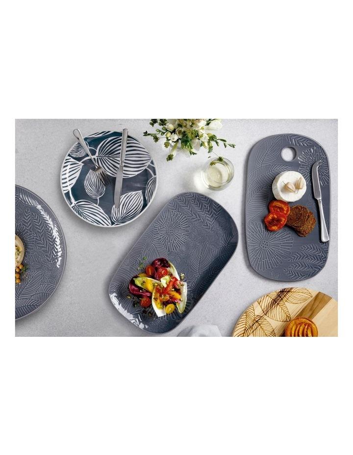 Panama Oblong Platter 39x23cm Grey Gift Boxed image 3
