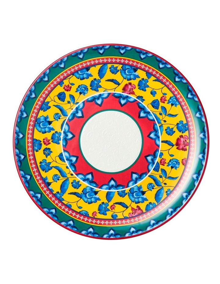 Rhapsody Round Platter 36.5cm Red Gift Boxed image 1