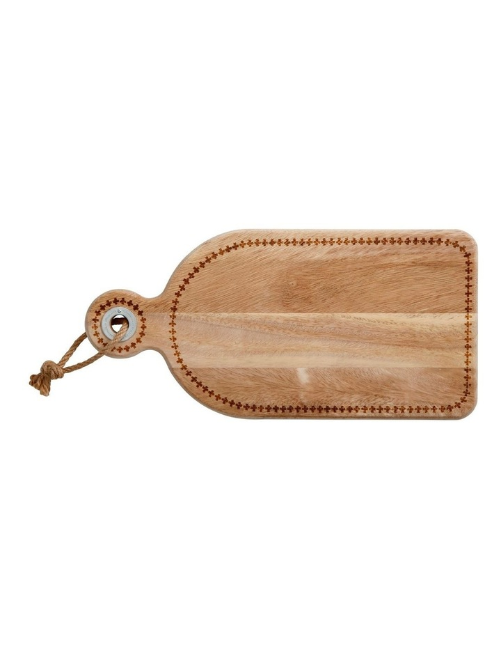 Rhapsody Acacia Paddle Serving Board 40x20cm image 1