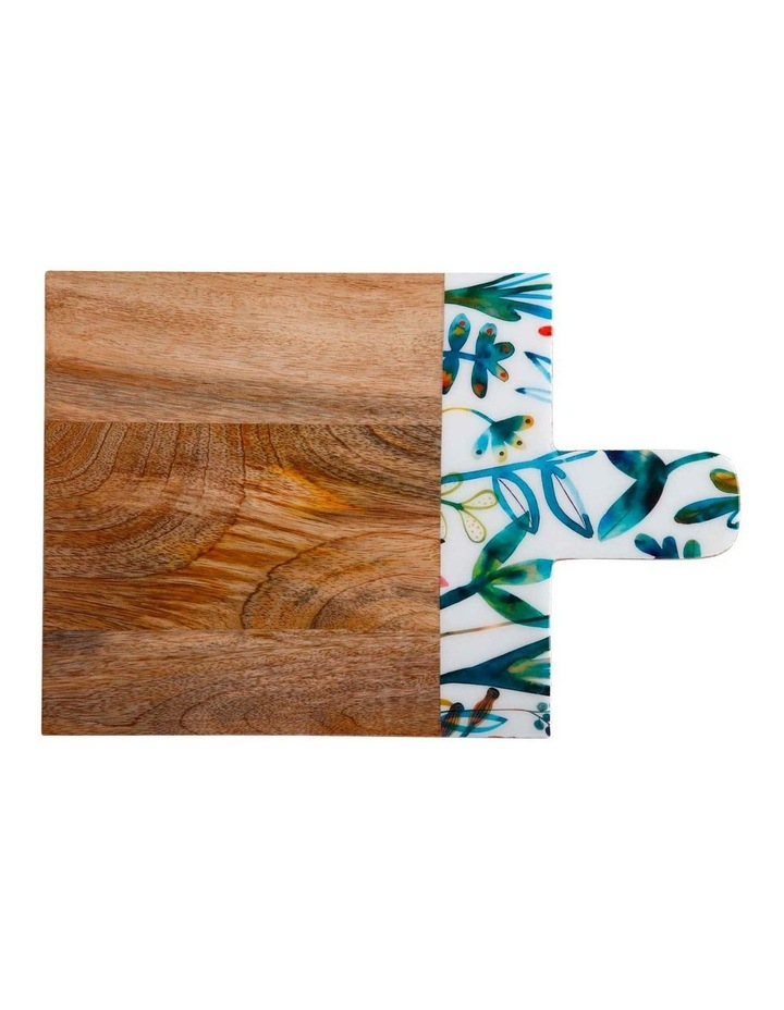 Marc Martin Dusk Board Mango Wood Enamel Finish 38x25cm image 1