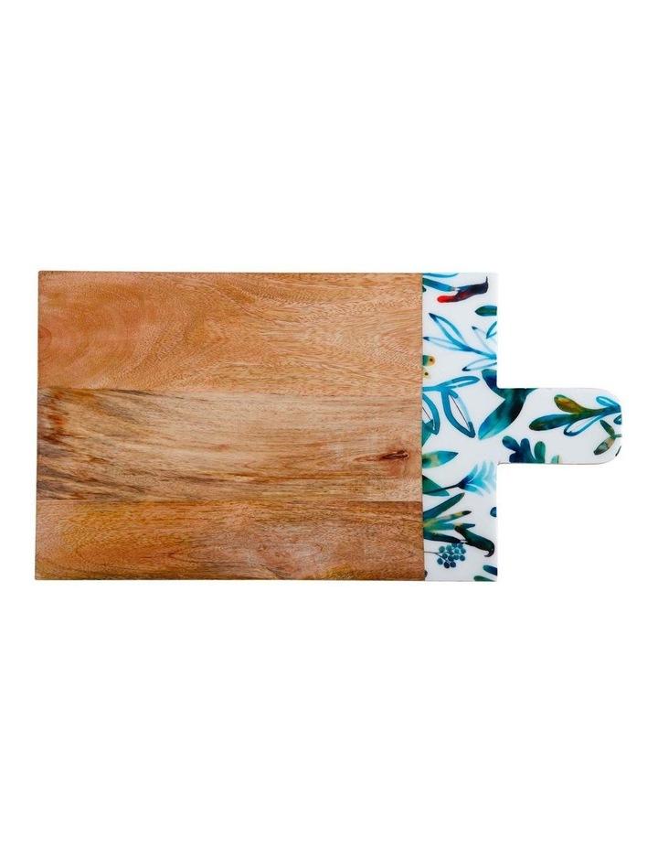 Marc Martin Dusk Board Mango Wood Enamel Finish 48x25cm image 1
