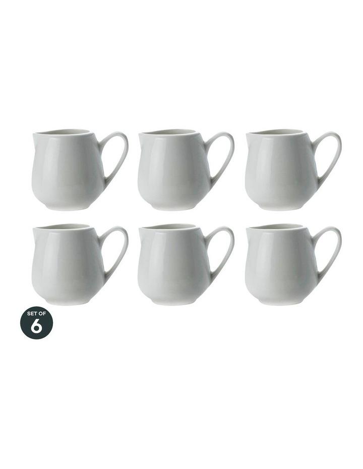 White Basics Jug 90ML Set of 6 image 1