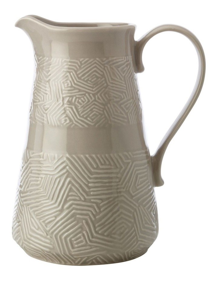 Dune Pitcher 2.5L Taupe Gift Boxed image 1