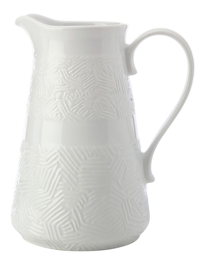 Dune Pitcher 2.5L White Gift Boxed image 1